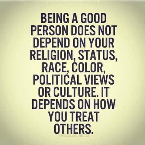 Just Be A Good Person SheerChaos